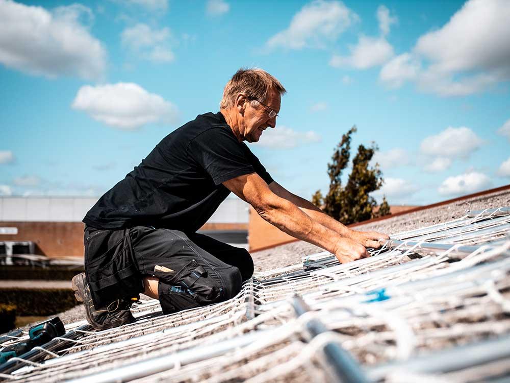 Sikkerhed på taget